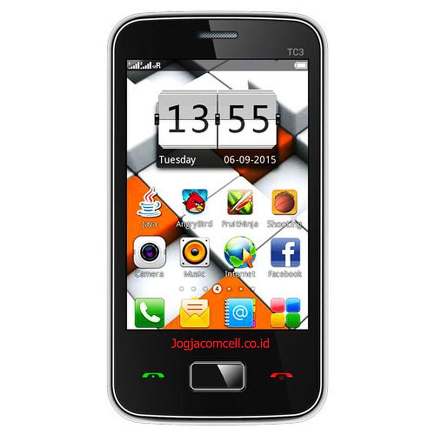 Evercoss TC3 Ponsel Touchscreen Dual SIM GSM Murah