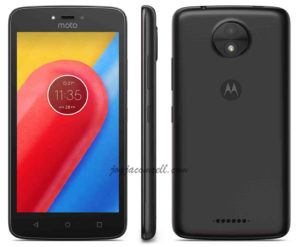Motorola Moto C, Android Nougat 4G LTE RAM 1 GB